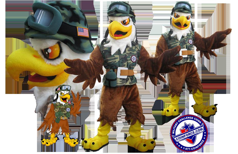Eagle Mascot Coinforce
