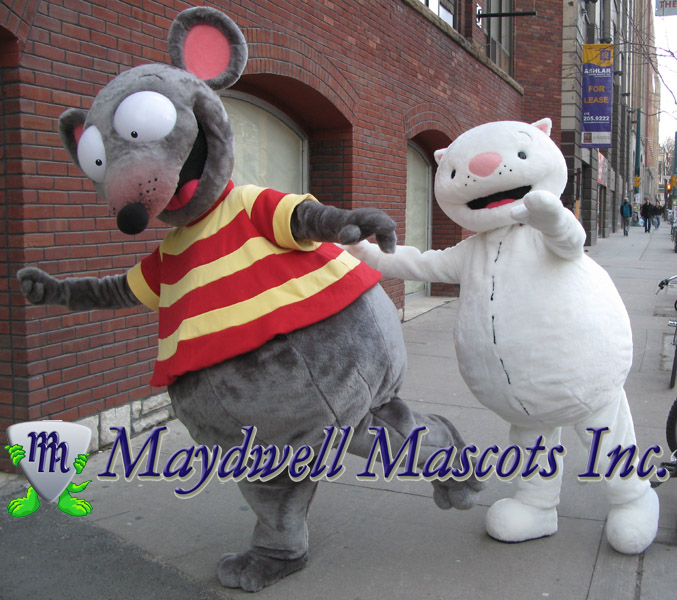 Please visit our website & Toopy and Binoo Mascots | Maydwell Mascots