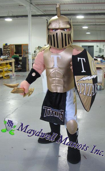 Titan Mascot Treasure Coast Maydwell Mascots