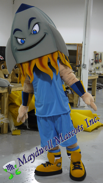 d669fdbd661aa Rocket mascot – Central Illinois Drive Basketball | Maydwell Mascots