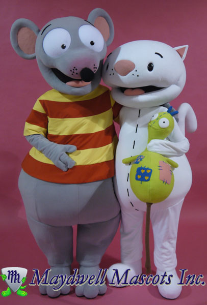 Mouse Toopy and Binoo Sunwing