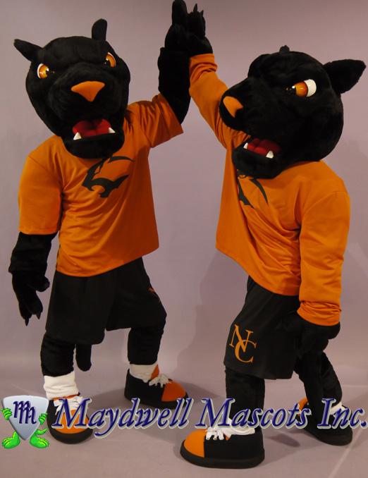 panther mascot neosho county community college maydwell mascots