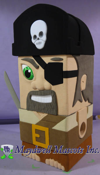 Sick Bricks Spin Master Captain Brick Beard
