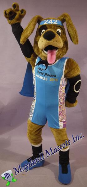 Dog IAAF World Relay Bahamas