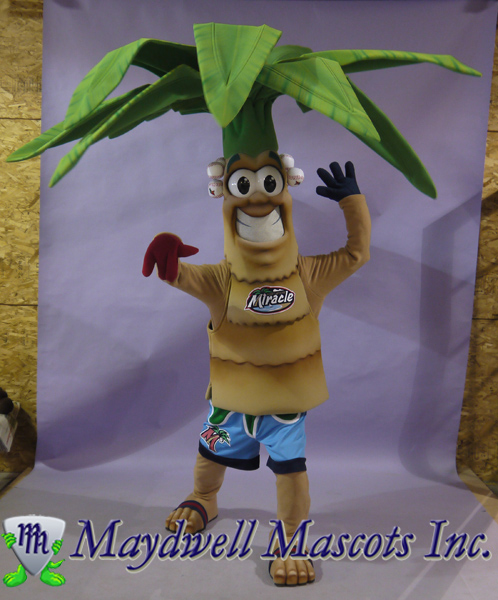 Tree Palm Tree SJS Beacon Baseball LLC Fort Myers Miracle Baseball