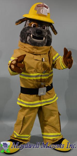 Dog Firefigher Honolulu