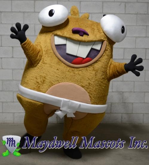 numb chucks mascot