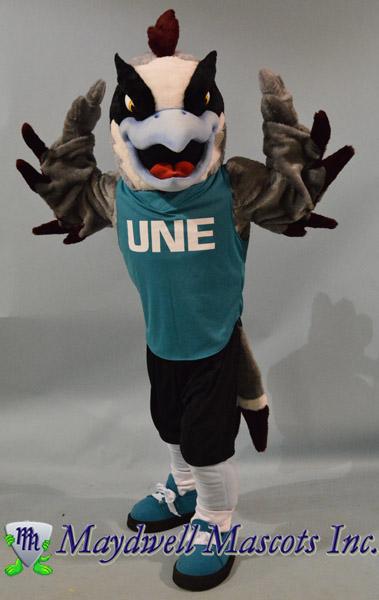 falcon mascot, bird mascot