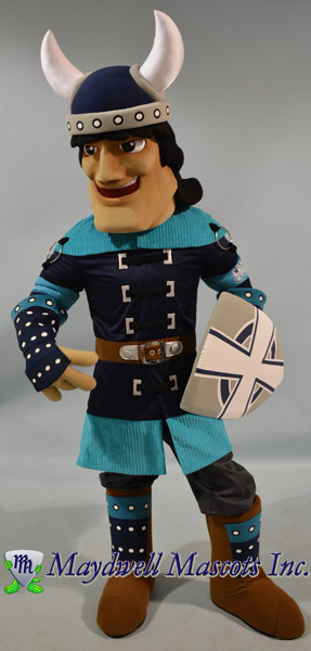 knight mascot, viking mascot