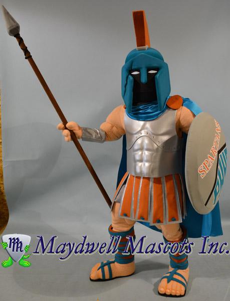 trojan mascot, spartan mascot, knight mascot