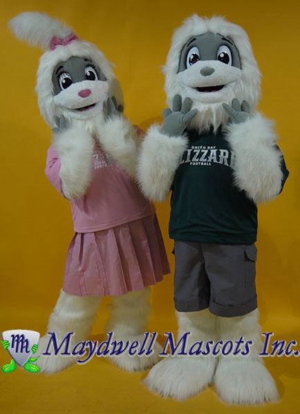 Yetis Blizz and Bling Green Bay Blizzard